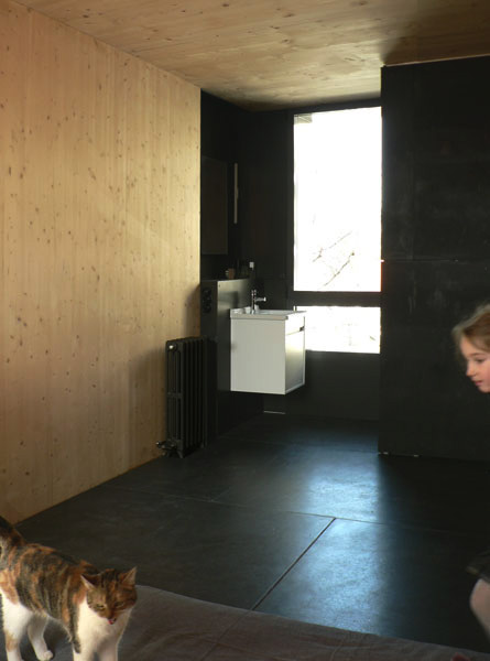 Salle de bain de la Maison L. - Architecte : Hervé Gaillaguet