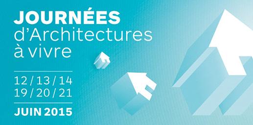 Journées d'Architectures à Vivre - 2015